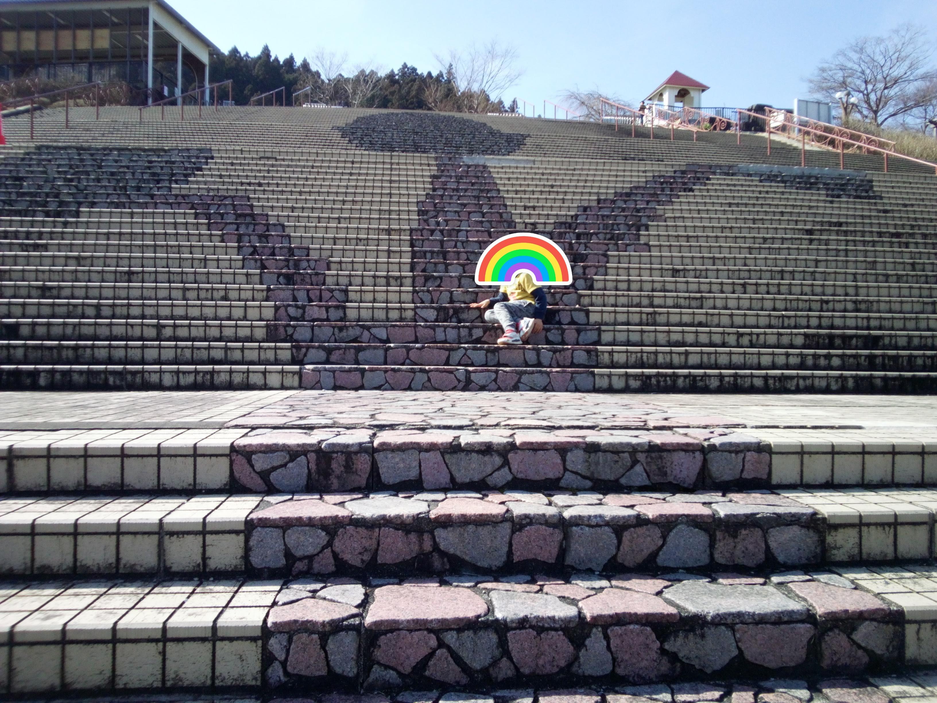 宮ケ瀬ダム階段350段