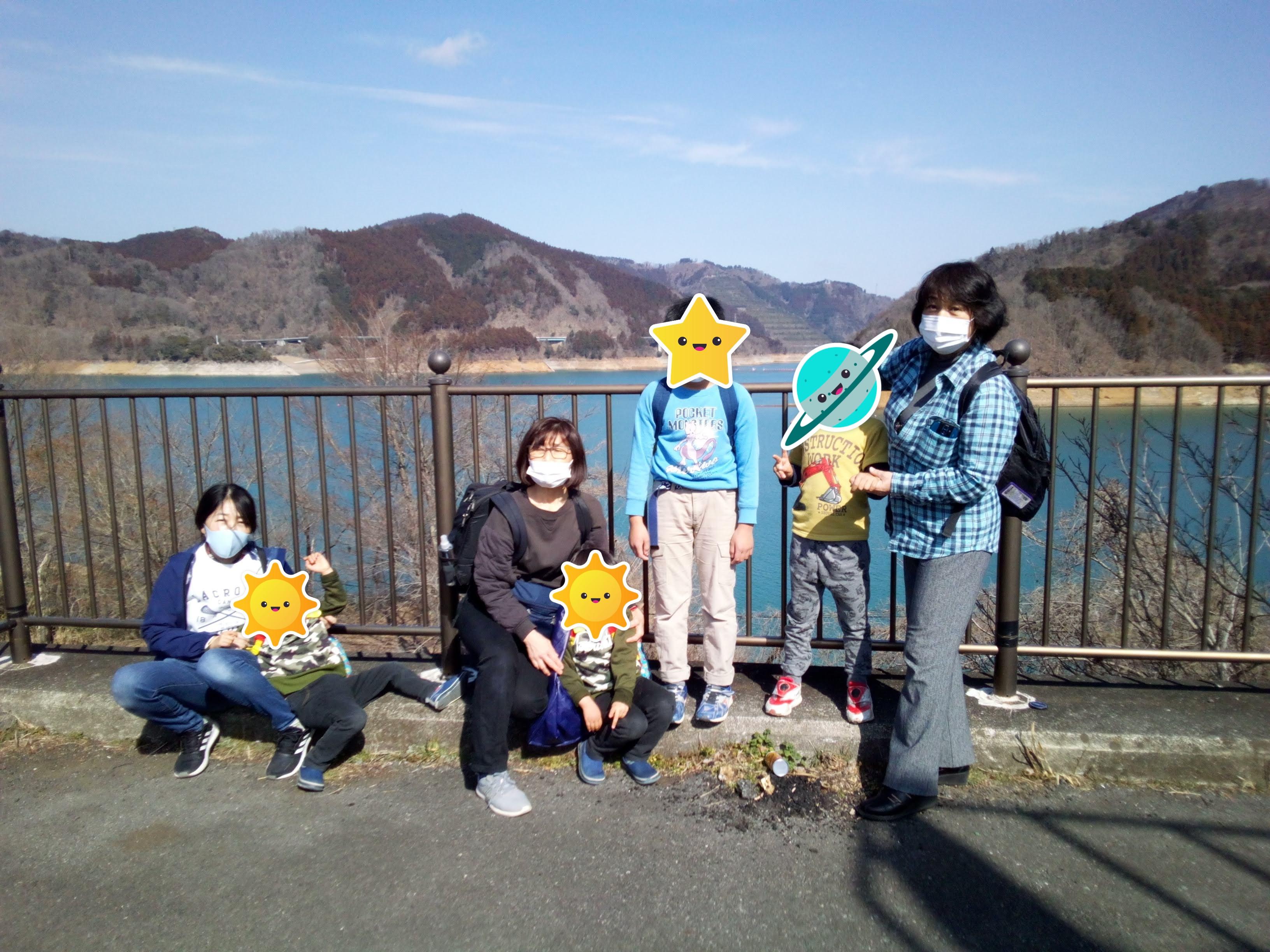 宮ケ瀬ダム集合写真