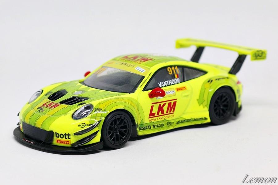 【スパーク】 1/64 ポルシェ 911 GT3 R #911 - Manthey-Racing FIA GT World Cup Macau 2018