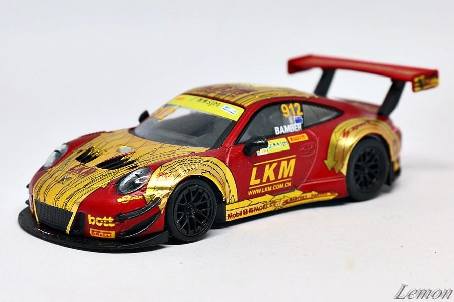 【スパーク】 1/64 ポルシェ 911 GT3 R #912 - Manthey-Racing FIA GT World Cup Macau 2018