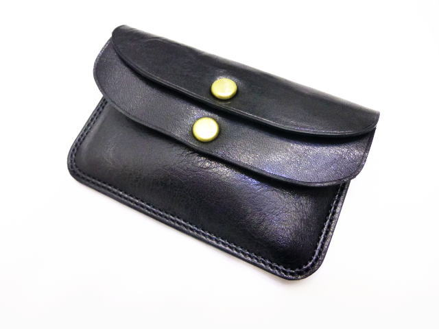 GLAD HAND DOUBLE FLAP COIN CASE