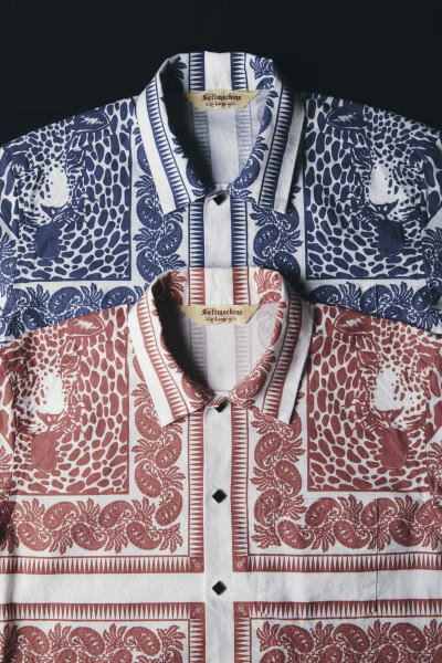 SOFTMACHINE BLEND BANDANA SHIRTS L/S