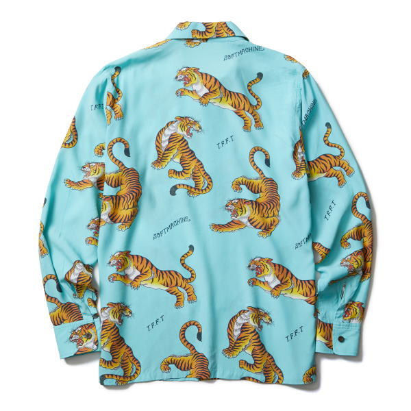 SOFTMACHINE TIGERS GARDEN SHIRTS L/S
