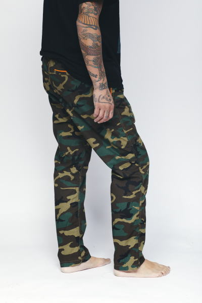 SOFTMACHINE FAR EAST PANTS CAMO
