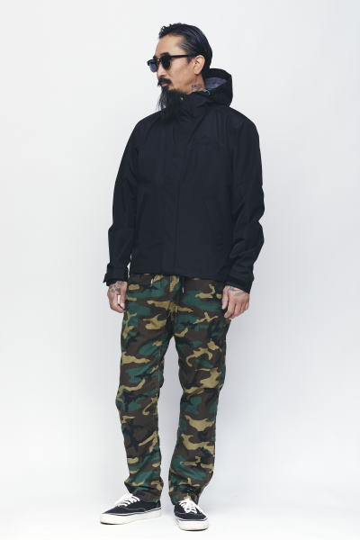 SOFTMACHINE GOD RAIN PARKA FAR EAST PANTS MASTER GLASS