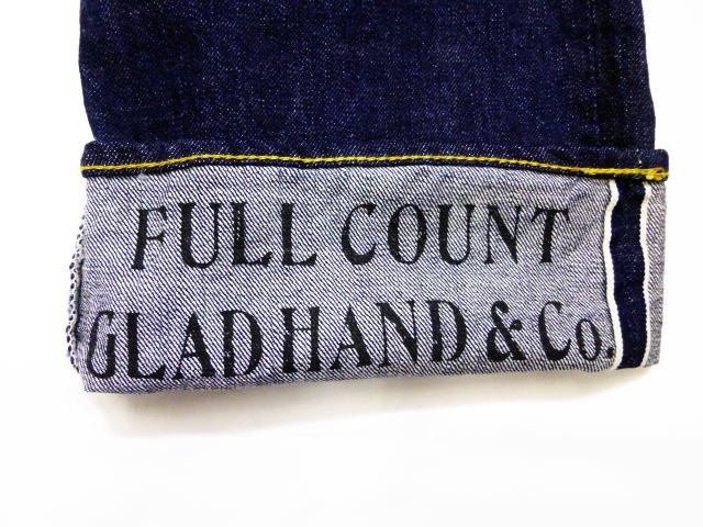 GLAD HAND×FULLCOUNT 0105 LOOSE STRAIGHT