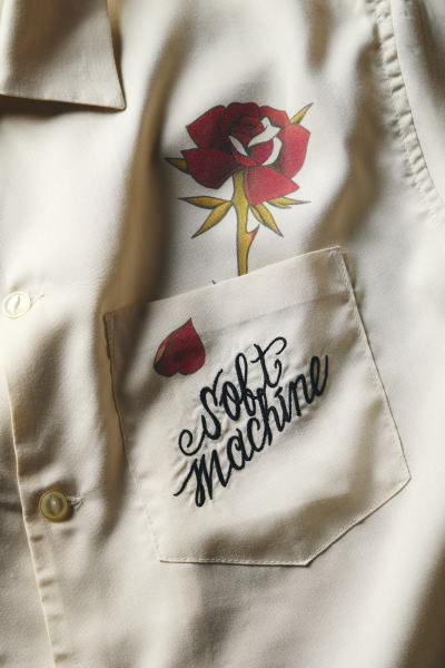 SOFTMACHINE OUT BLOOM SHIRTS