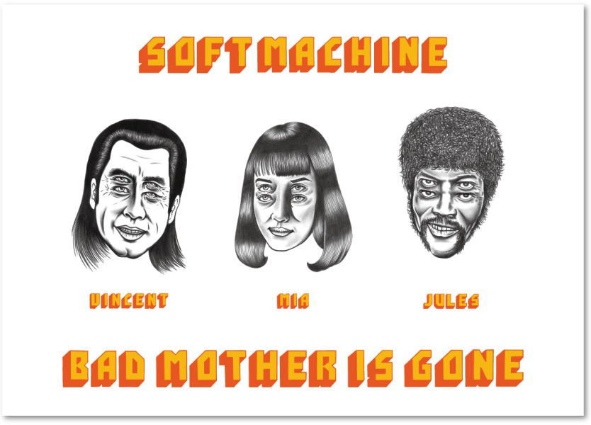 SOFTMACHINE BAD MOTHER POSTER