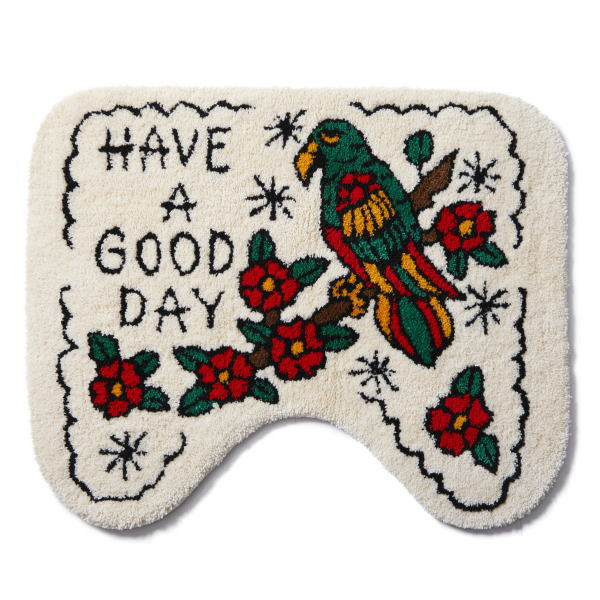 SOFTMACHINE GOOD DAY TOILET RUG
