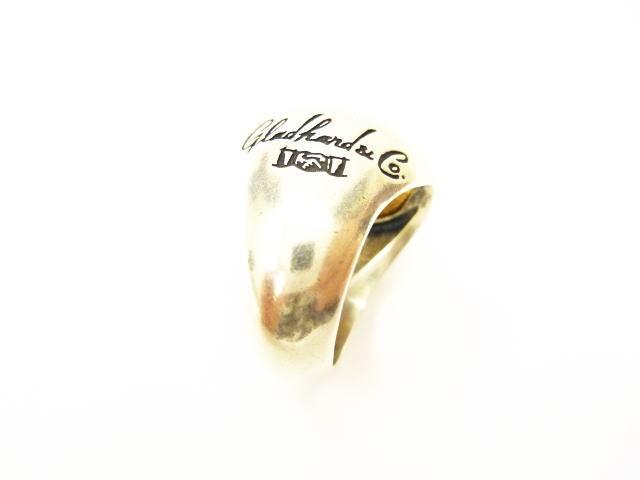 GLAD HAND MEDAL RING