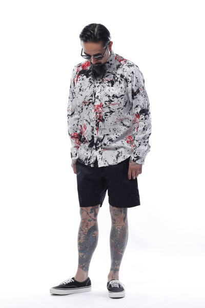 SOFTMACHINE RED ROSES SHIRTS L/S THOMAS SHORTS MASTER GLASS