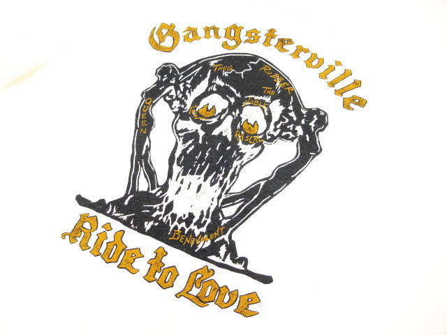 GANGSTERVILLE RIDE TO LOVE-S/S T-SHIRTS