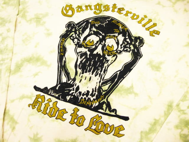 GANGSTERVILLE RIDE TO LOVE-L/S TIE DYE T-SHIRTS