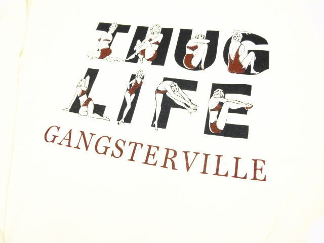 GANGSTERVILLE THUG LIFE-L/S T-SHIRTS
