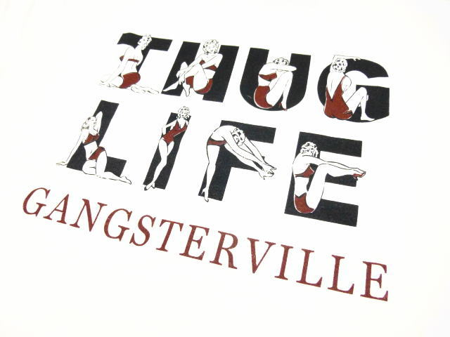 GANGSTERVILLE THUG LIFE-S/S T-SHIRTS