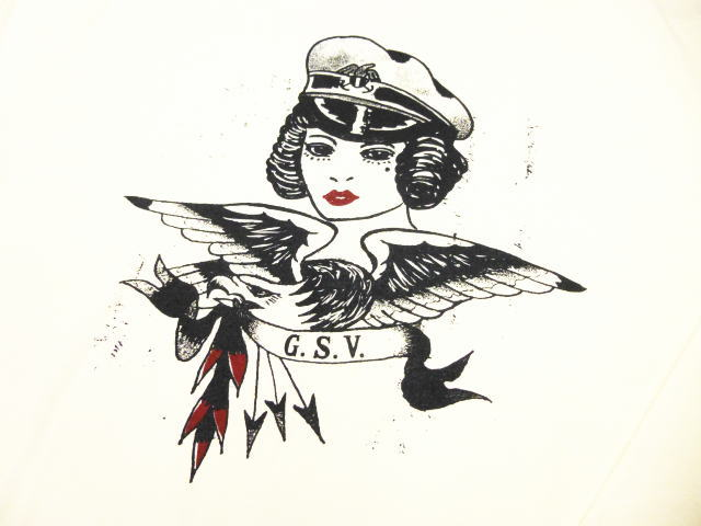 GANGSTERVILLE CAPT.BETTY-L/S T-SHIRTS