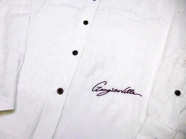 GANGSTERVILLE RISE ABOVE-L/S BUTTON DOWN SHIRTS