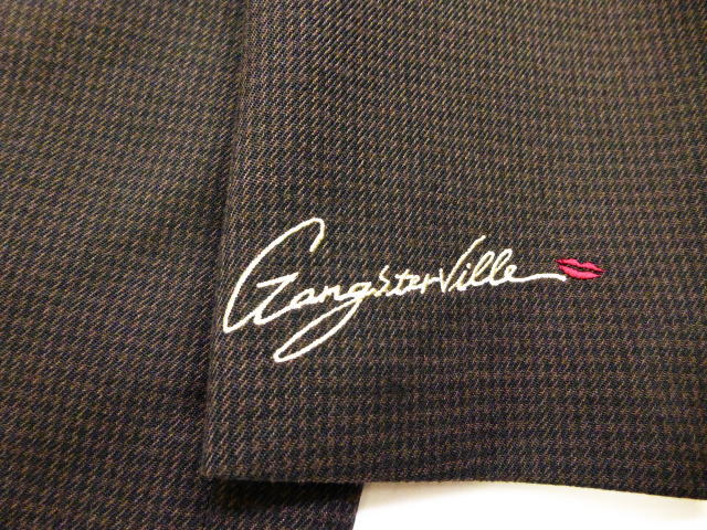 GANGSTERVILLE SHARPER-CHECK JACKET
