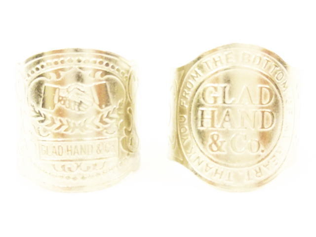 GLAD HAND GH CIGAR TAG-RING SHAKE HAND/GLAD HAND&Co