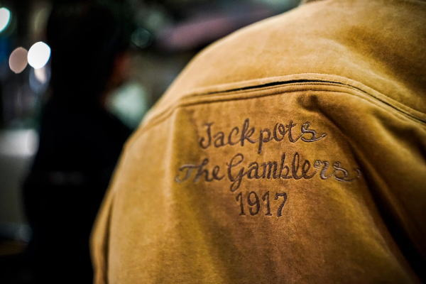 GANGSTERVILLE MAN'S RUIN-DERBY JACKET