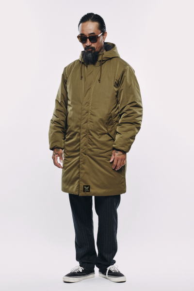 SOFTMACHINE COME DOWN COAT BIVOUAC WOOL PANTS TOLUCA GLASS