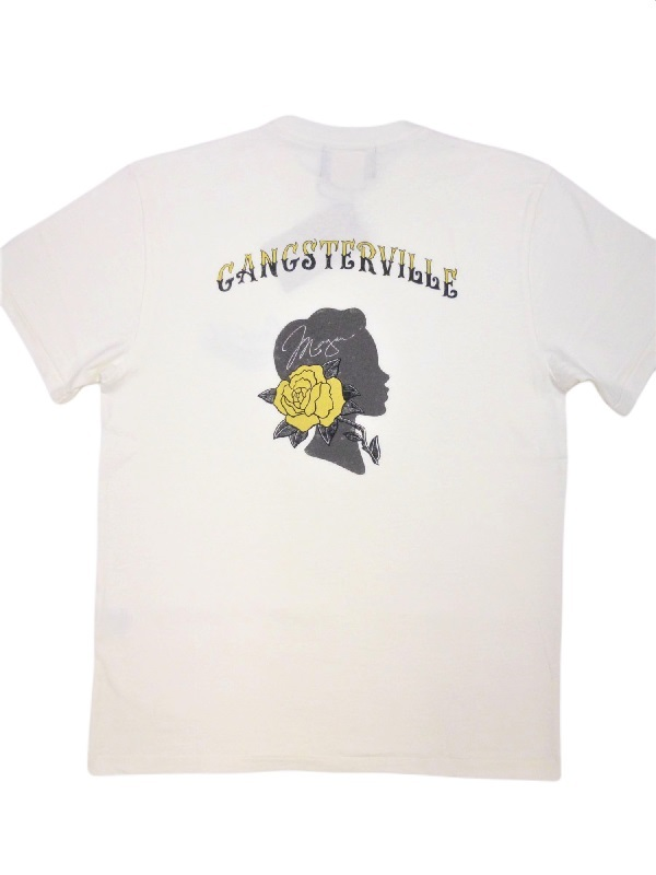 GANGSTERVILLE TEXAS ROSE-S/S T-SHIRTS