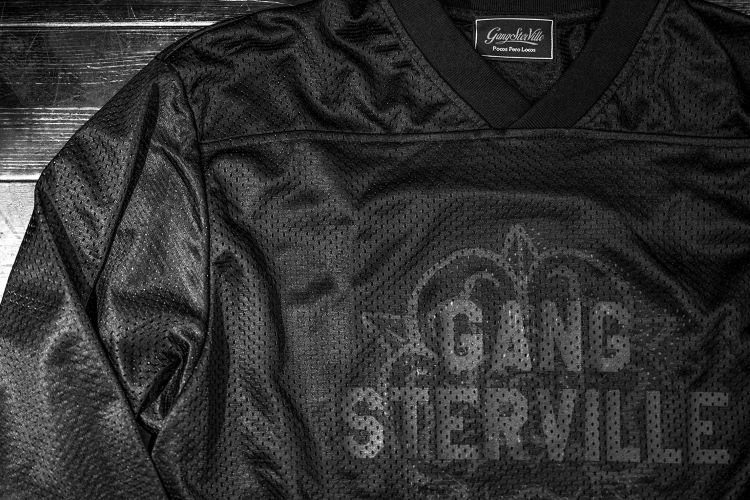 GANGSTERVILLE TEXAS ROSE-GAME SHIRTS