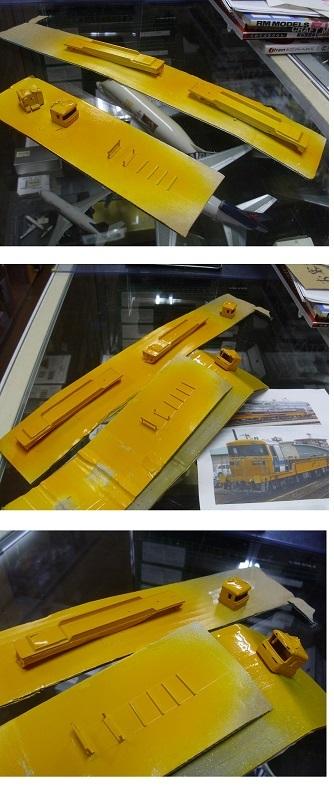 キヤ97黄色塗装5