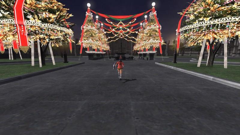 サンドリアクリスマスツリー