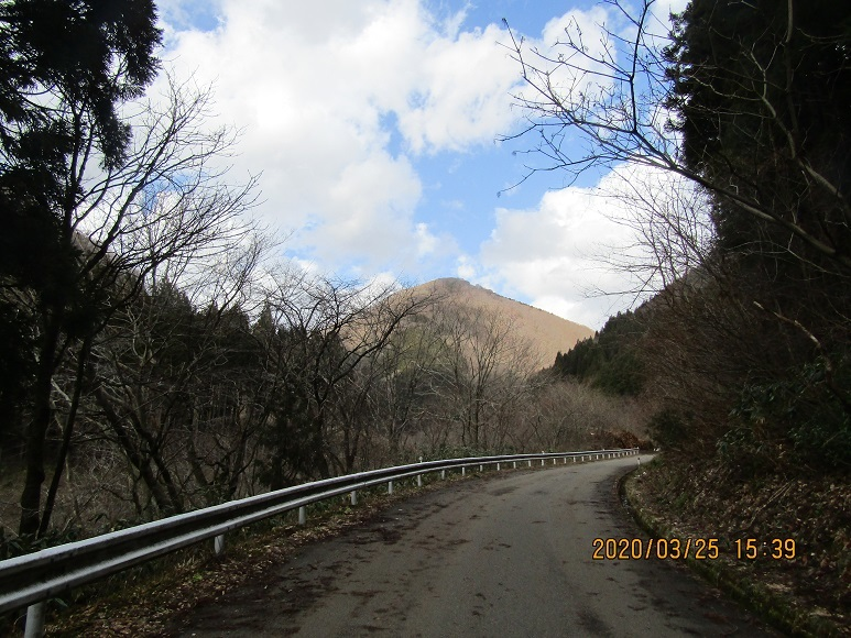 青秋林道に続く道2