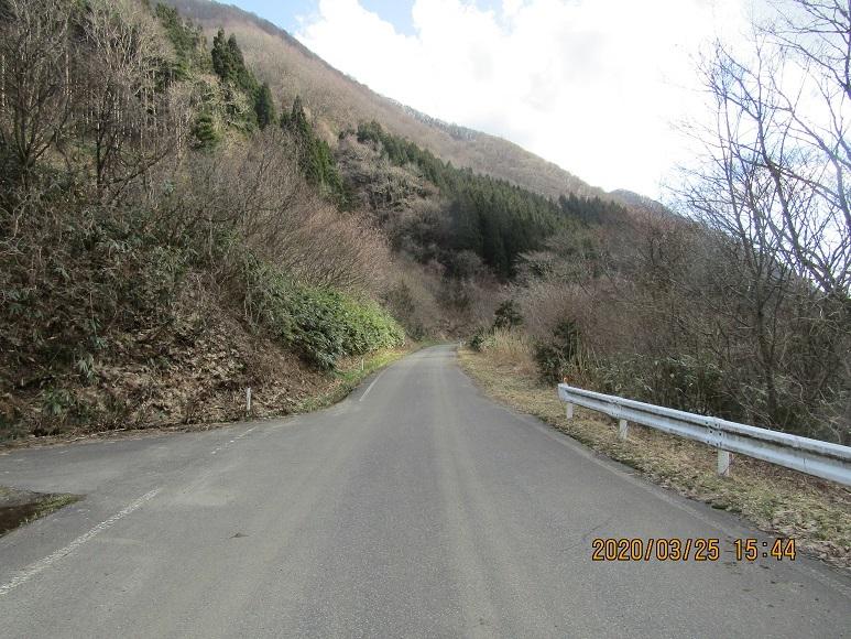 青秋林道に続く道5