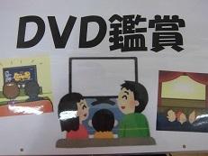で DVD鑑賞