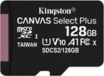 キングストン microSD 128GB 最大100MB/s UHS-I V10 A1 Nintendo Switch動作確認済 Canvas Select Plus SDCS2/128GB