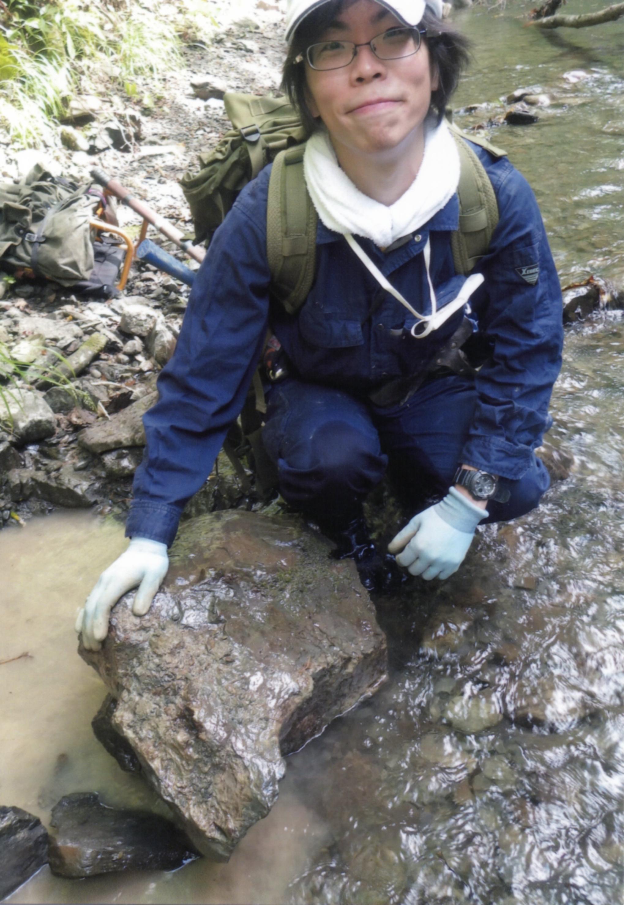 どこ博講演_国の天然記念物を手に取ろう -ARで観察するエゾミカサリュウ(Taniwhasaurus mikasaensis)-1