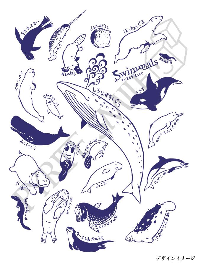 2020_海獣水生哺乳類天こ盛り_デザインイメージ