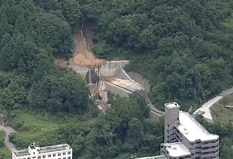 2020年7月7日 広島市西区井口台 土石流 2