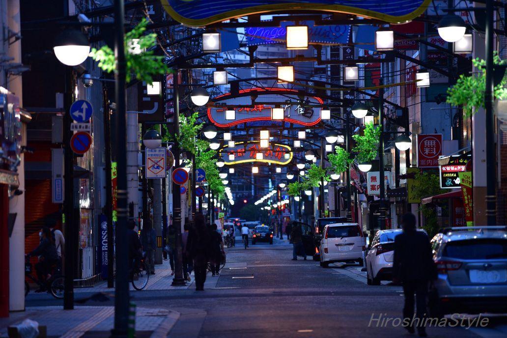 広島市中区 歓楽街