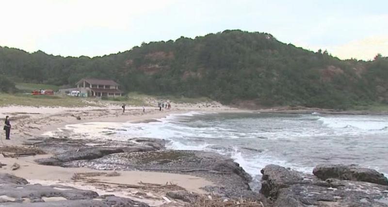 2020年8月 石見海浜公園 海水浴 事故