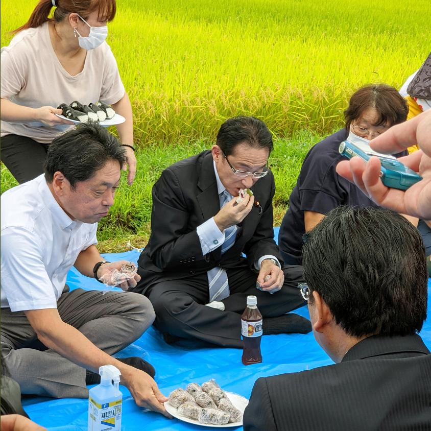 生キッシー 岸田文雄 食事