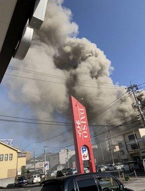 尾道市新浜 火事