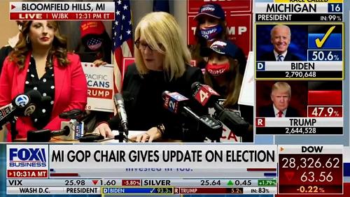 FOX news 大統領選挙 トランプ  バイデン