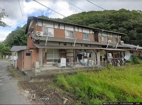 竹原市下野町 アパート火災02