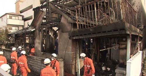 広島市南区 住宅火災
