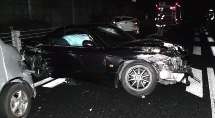 三原市 6台交通事故