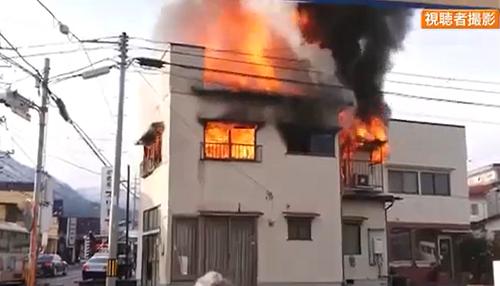 広島市安佐北区亀山 住宅火災