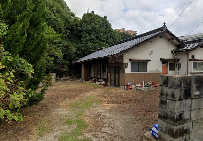 広島市仁保町 グーグルマップ2019年