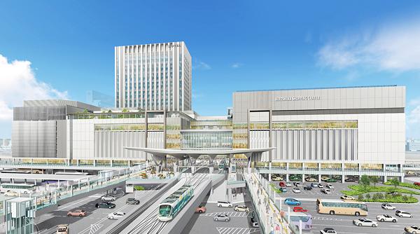 広島駅ビル イメージ図