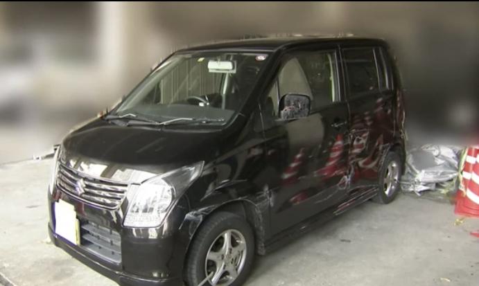 広島市 盗難車 事故