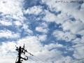 ぼんやりと雲を撮る