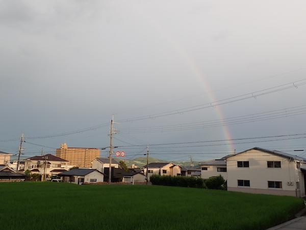梅雨明け間近?